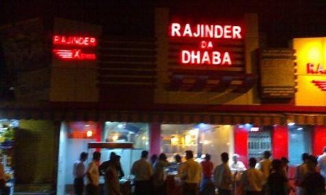 Rajinder Da Dhaba – Near AIIMS Metro