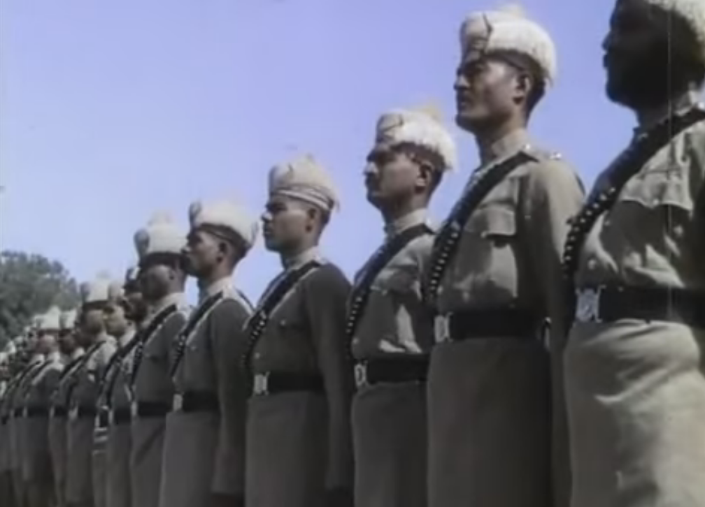 delhi-in-1930-police
