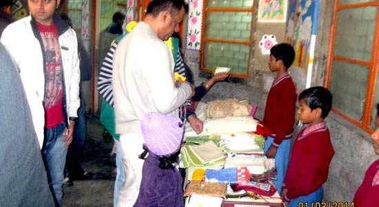Supporting Slums Children in Delhi