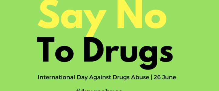 Message for International Day against Drug Abuse