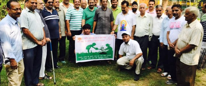 Plantation Drive in Different Parks of Janakpuri