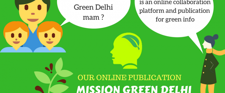 Green Delhi Cartoons for Sharing