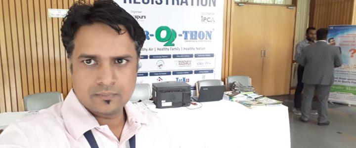 Airothon Warriors Award to Mission Green Delhi platform at India International Center
