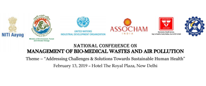 "ASSOCHAM's National Conference on ""Management of Bio-Medical Wastes and Air Pollution"