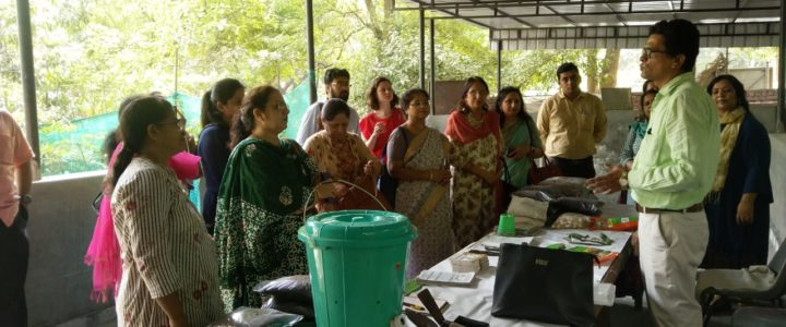 Terrace Farming Training Session at Daulat Ram College by Environmentalist Pravin Mishra