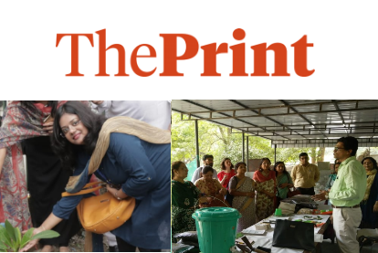 MGD Environmentalists Anubha Jain & Pravin Mishra interviewed by Aastha Singh from ThePrint