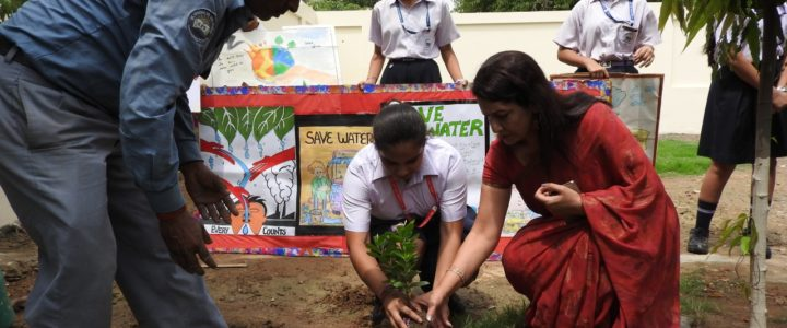 Conserve Water Call by Students of St. Froebel Senior Secondary School(SFS), Paschim Vihar
