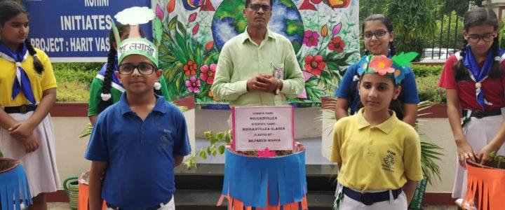 Environmentalist Pravin Mishra at Ryan International School, Sector-11, Rohini
