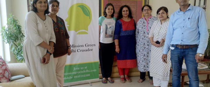 MGD Green Talks Inception by Pravin Mishra at Sushant Lok, Gurugram