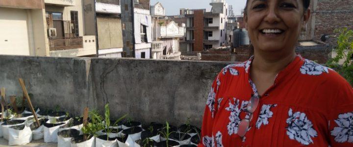 MGD Green Talk hosted by Mrs. Harwinder at Vishnu Garden