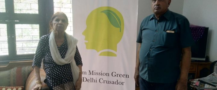 MGD Green Talk hosted by Advocate S K Tiwari at Green Park
