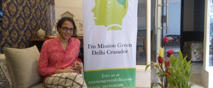 Green Talk hosted by Ayushi Jain at Green Park