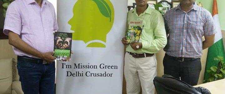 MGD Green Talk at Krishi Jagran by Pravin Mishra