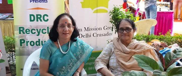 MGD Green Talk with Dr. Sarita Nanda at DRC Diwali Mela