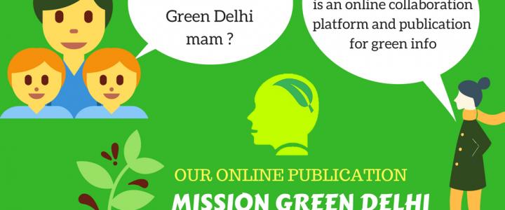 Green Delhi Cartoons for Sharing
