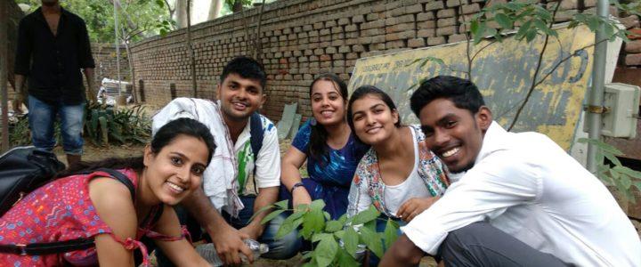 Rotaract Club of Sri Aurobindo College Ran Online Plantation Drive