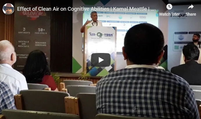 Effect of Clean Air on Cognitive Abilities | Kamal Meattle