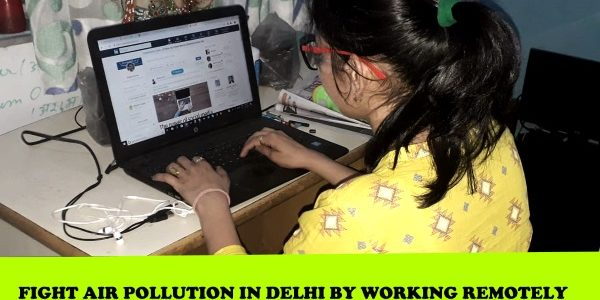 Shouldn't We Fight Air Pollution By Working from Home this Winter ?