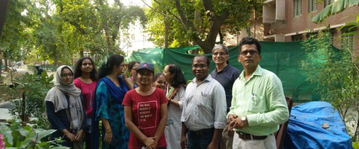 Terrace Gardening & Domestic Waste Management Workshop at Daulat Ram College North Campus Delhi University