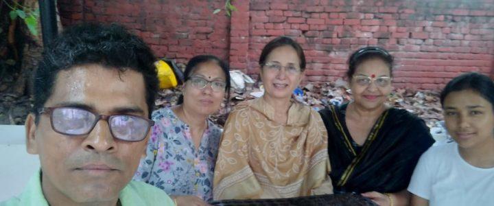 Terrace Gardening Training at Daulat Ram College North Campus, Delhi University