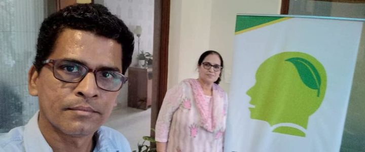 MGD Green Talk hosted by Karuna Singh at Indira Enclave, Sainik Farms