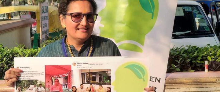 MGD Green Talks by Mrigya Mukaam at Galleria, Gurgaon